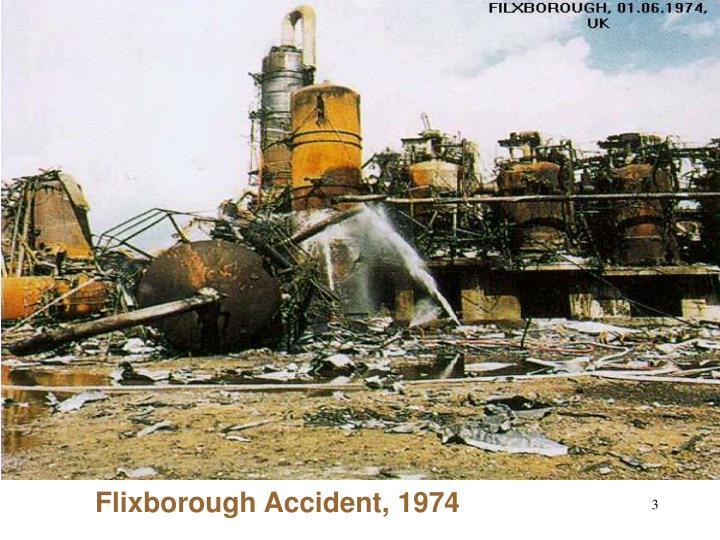 Flixborough Accident, 1974