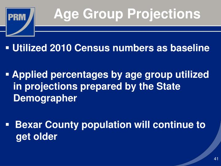 Age Group Projections