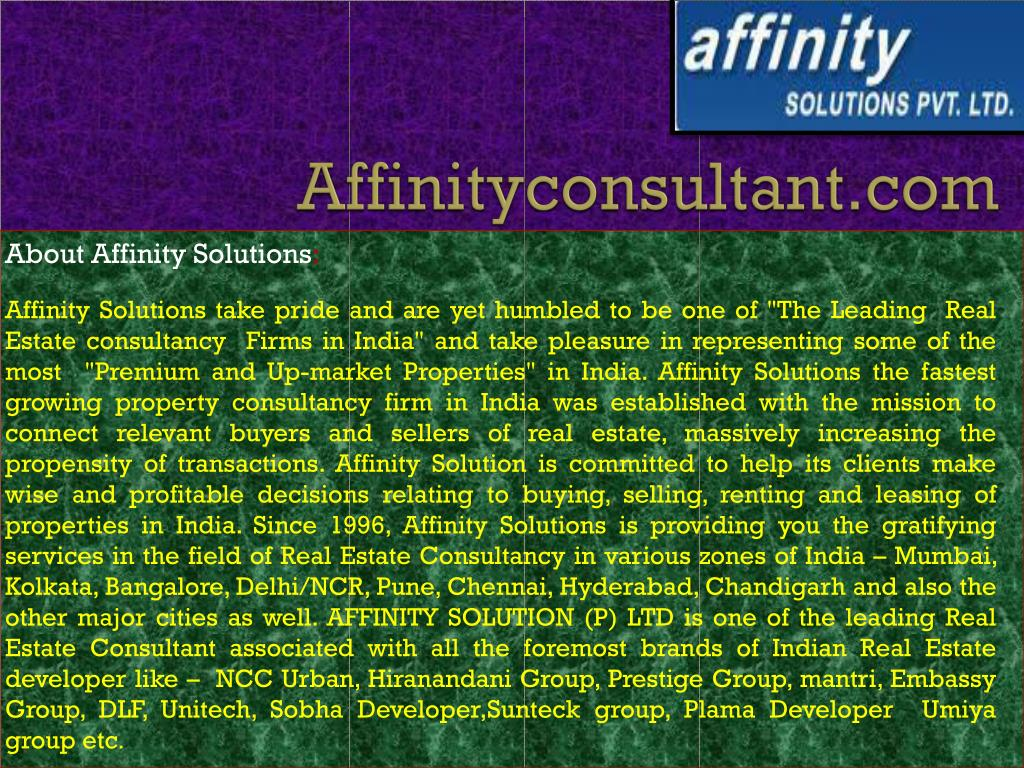 affinityconsultant com l.