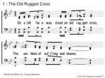1 the old rugged cross