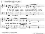 2 the old rugged cross