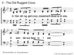 3 the old rugged cross