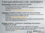 interoperabilnost s tel centralami