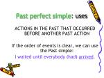 past perfect simple uses1