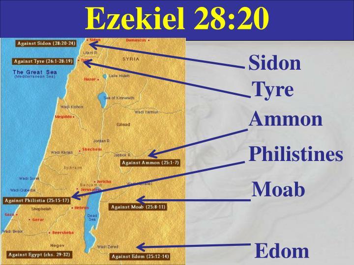 Ezekiel 28:20