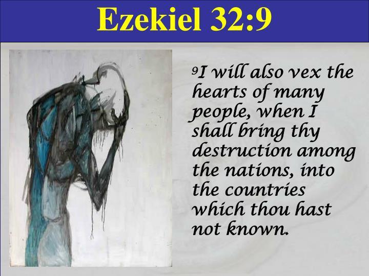 Ezekiel 32:9