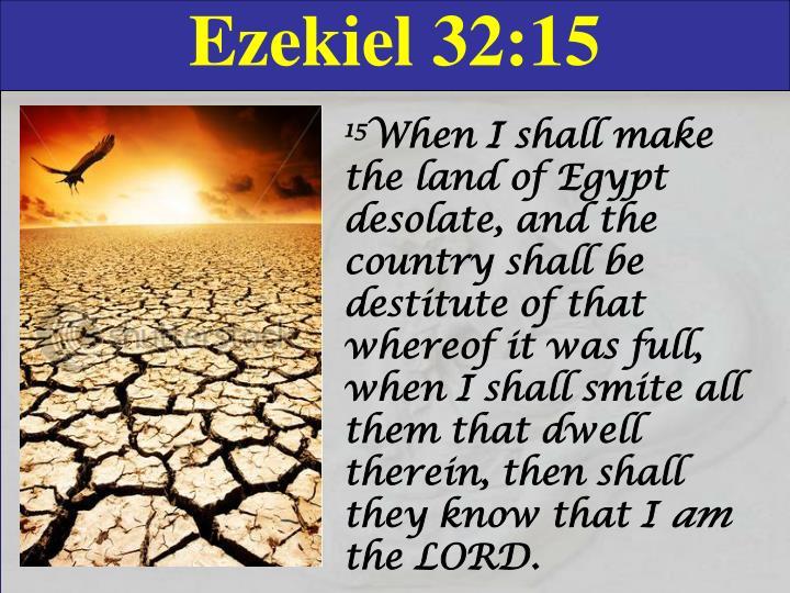 Ezekiel 32:15