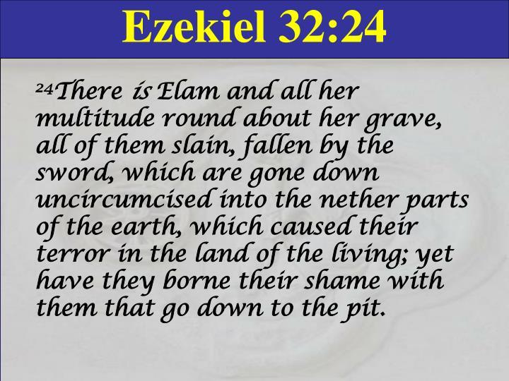 Ezekiel 32:24