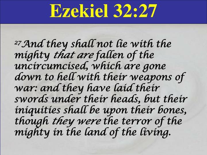 Ezekiel 32:27