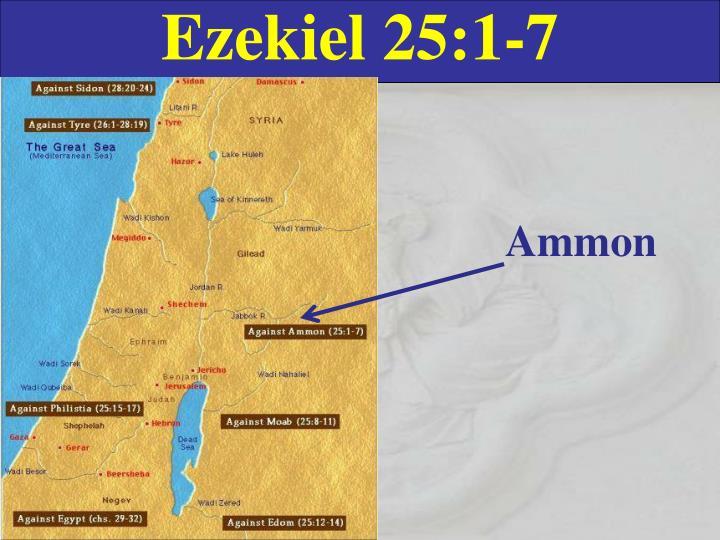Ezekiel 25:1-7