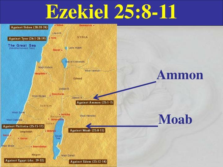 Ezekiel 25:8-11