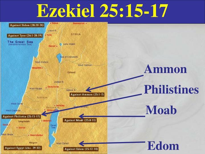 Ezekiel 25:15-17