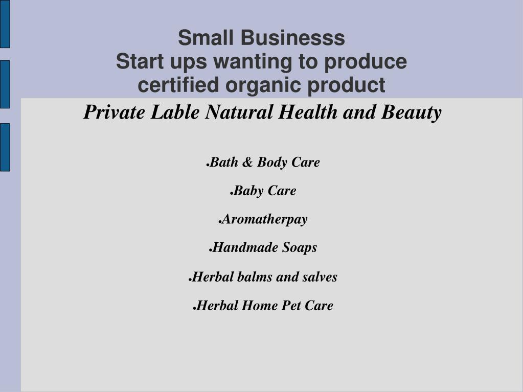Private Lable Natural Health and Beauty