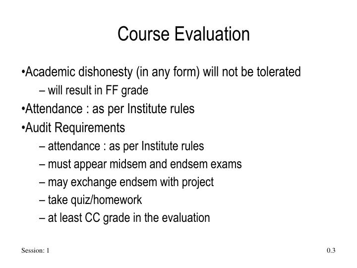 Course evaluation1