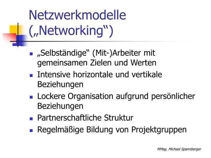 "Netzwerkmodelle (""Networking"")"
