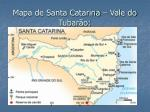 mapa de santa catarina vale do tubar o
