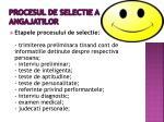 procesul de selectie a angajatilor