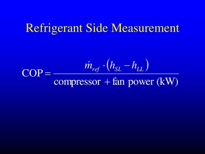 Refrigerant Side Measurement