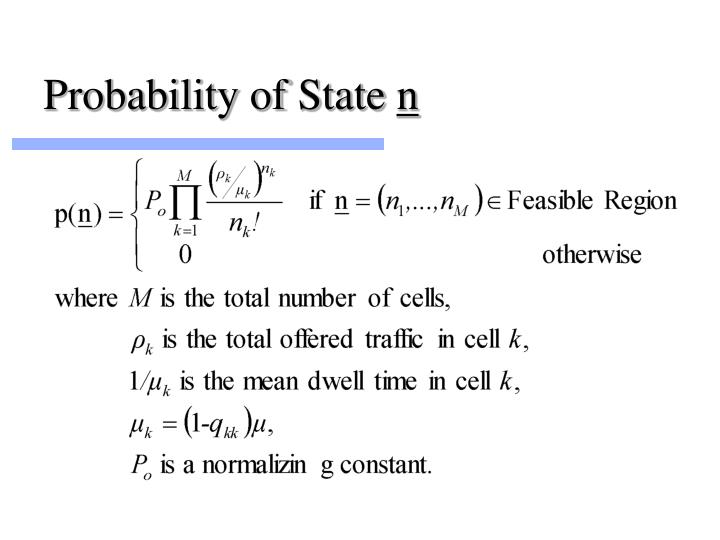 Probability of State