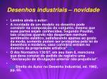 desenhos industriais novidade1