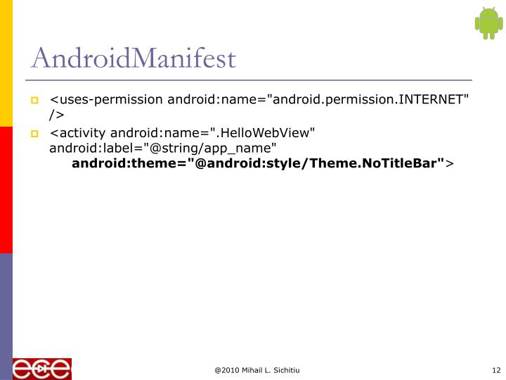 AndroidManifest