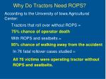 why do tractors need rops
