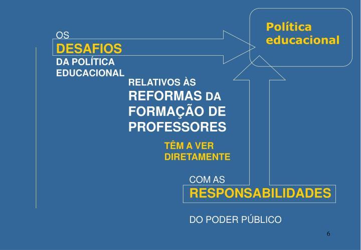 Política educacional