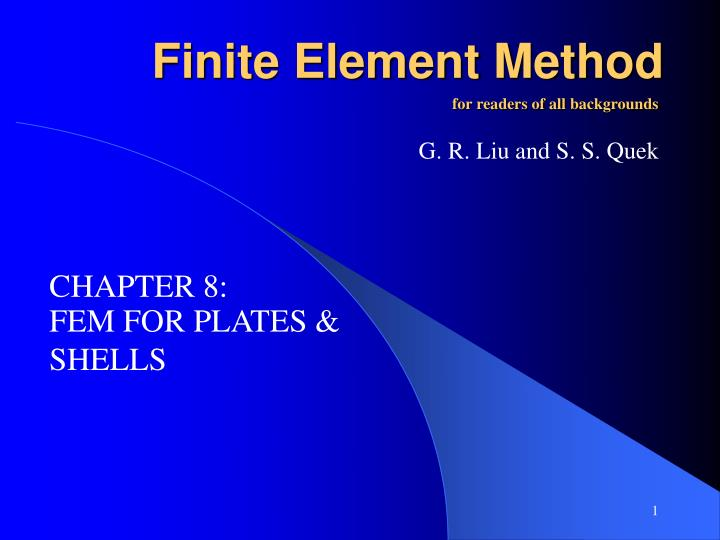f inite element method n.