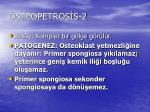 osteopetros s 2