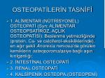 osteopat ler n tasn f