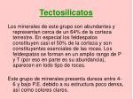 tectosilicatos