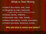 what is text mining