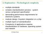 2 explanation technological complexity