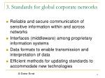 3 standards for global corporate networks