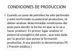 condiciones de produccion