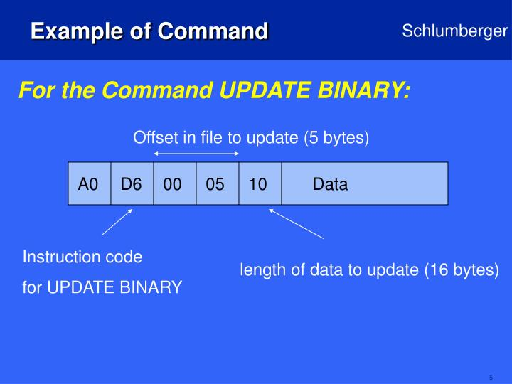 Example of Command