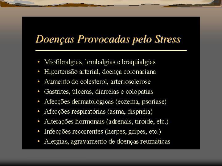 Doenças Provocadas pelo Stress