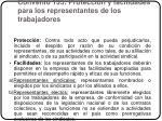 convenio 135 protecci n y facilidades para los representantes de los trabajadores