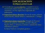 localizacion supraclavicular