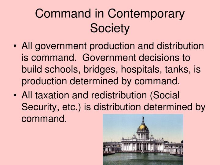 Command in Contemporary Society