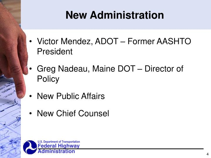 New Administration