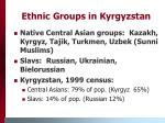 ethnic groups in kyrgyzstan