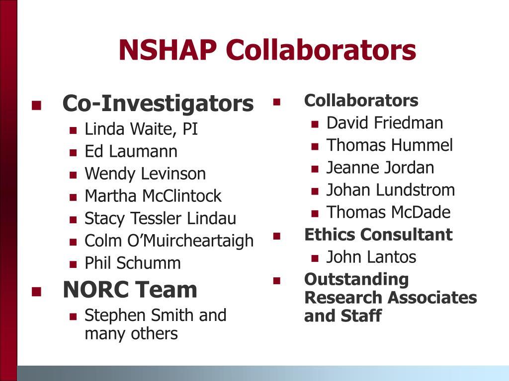 NSHAP Collaborators