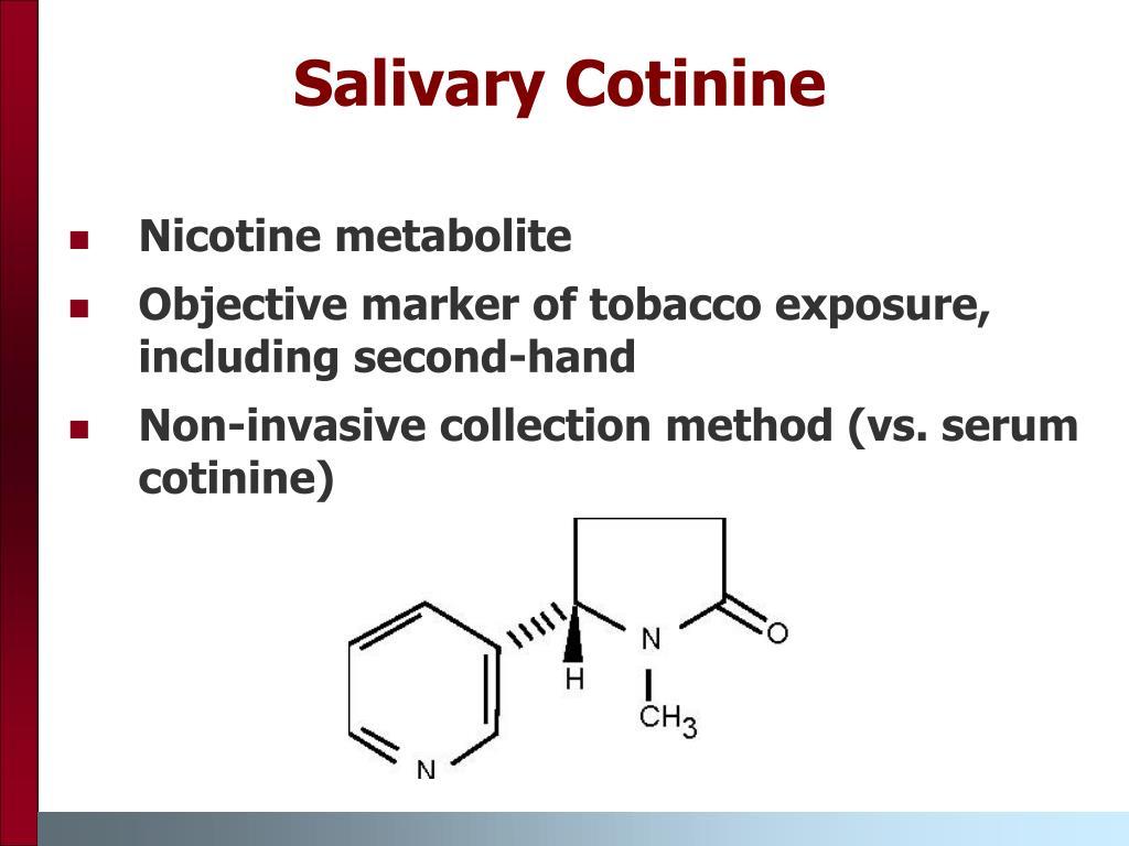 Salivary Cotinine