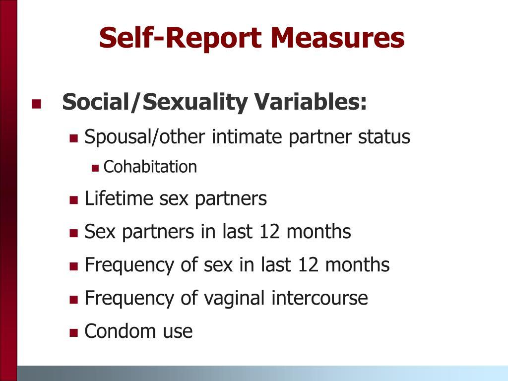 Self-Report Measures