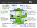 qlikview for retail and investment banking