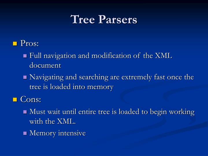 Tree Parsers
