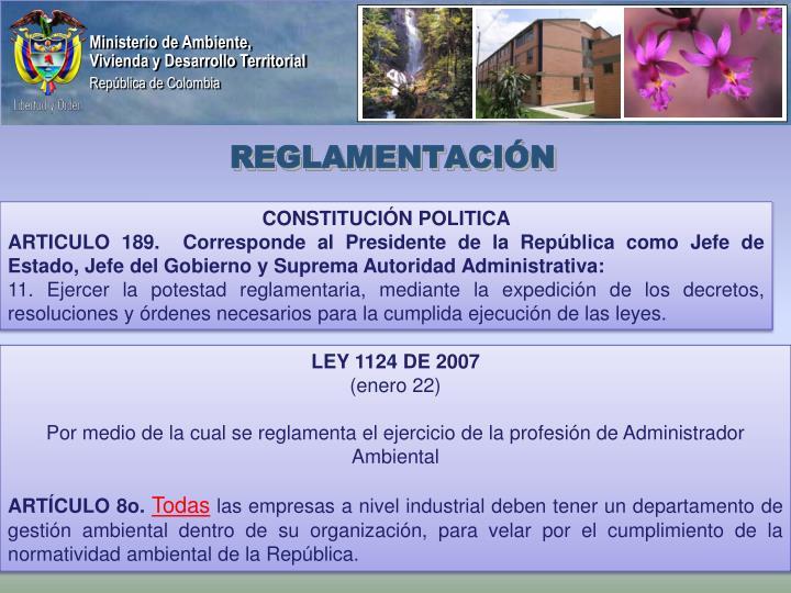 Reglamentaci n