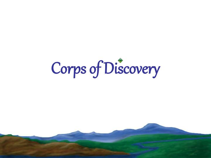 corps of discovery n.