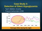case study 3 detection of silent hypoglycemia